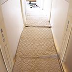 大手引越し業者以上の家具搬入時の床壁の養生(保護)